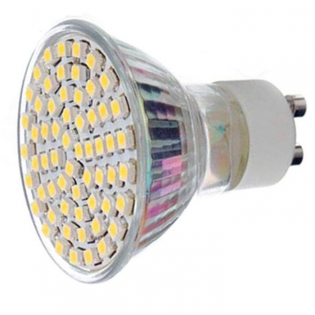 enlarge LED spotlight GU10 4.5W 3000K 450lm 60-SMD 3528 (AC 220~240V)