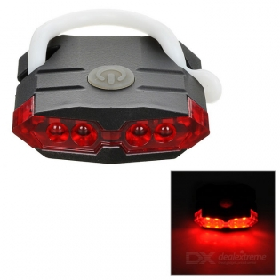 enlarge Red LED Light Bike Tail Light Leadbike