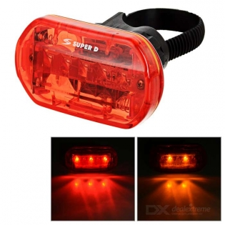 enlarge LED Light Bike Taillight red