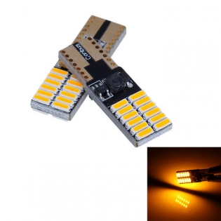 enlarge LED bulbs T10 4.5W 360lm 24-3014 SMD LED winker 2pcs