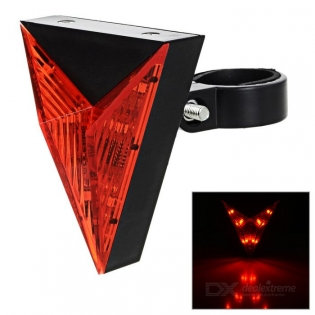 enlarge Red LED Light Tail Bike Lamp