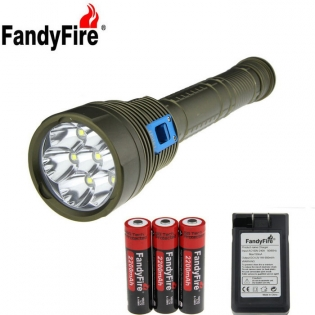 enlarge LED Flashlight FandyFire XM-L2 U2