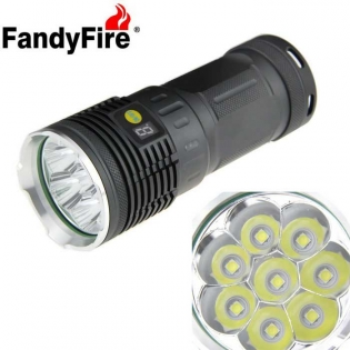 enlarge LED Flashlight FandyFire 8-LED 7700lm