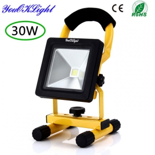 enlarge LED Worklamp YouOKLight YK0953 IP65 Rechargeable 30W 2500lm 6000K