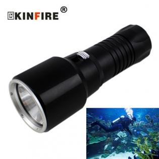 enlarge Diving LED Flashlight KINFIRE S32
