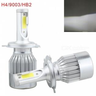 enlarge LED bulbs MZ H4 HB2 9003 72W 7200lm