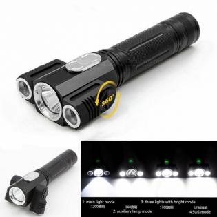 enlarge LED Flashlight ZHISHUNJIA YH-6798