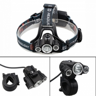 enlarge LED Headlamp ZHAOYAO T6 XPE 3-LED