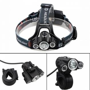 enlarge LED Headlamp ZHAOYAO T6 XPE 3-LED