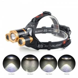 enlarge LED Headlamp AIBBER TONE 3-LED T6
