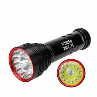 enlarge LED Flashlight AIBBER TONE 14x Cree XM-L T6